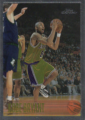 1996-97 TOPPS CHROME KOBE BRYANT RC #138
