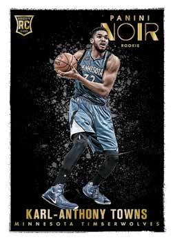 Karl-Anthony Towns RC | 15-16 Panini Noir Basketball Trading Card Box