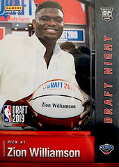 zion williamson panini instant