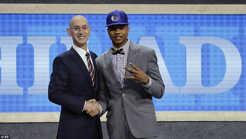 Fultz Philidelphia 1st pick draft nba