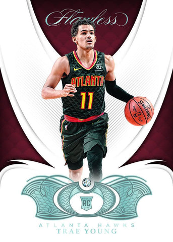 trae young panini flawless 18/19