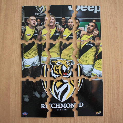 richmond tigers select footy stars 2020 jigsaw puzzle