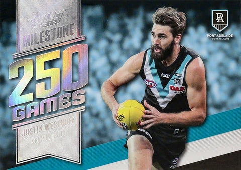 2020 select footy stars milestone games card