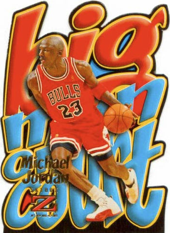 Michael Jordan Cards 1996-97 Michael Jordan Big Man On Court