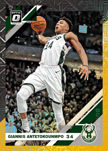 giannis panini donruss option 2019-20