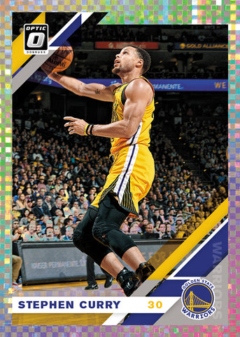 steph curry donruss optic 2019-20 panini