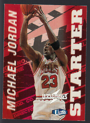 1997-98 Ultra Abilities Starter Michael Jordan