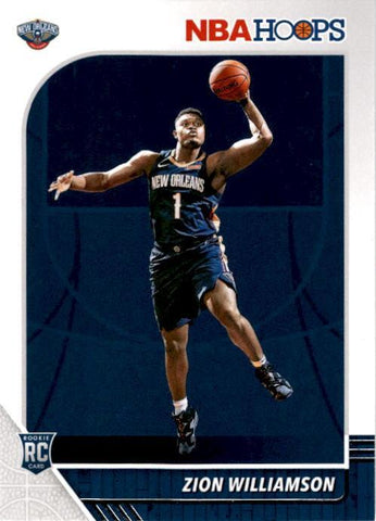 zion rookie card hoops