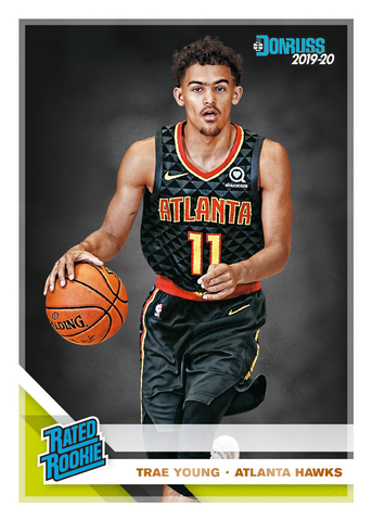 rated rookie donruss NBA 2019-20