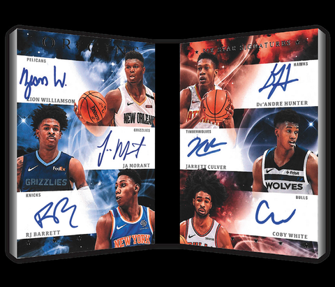 panini origins nba 2019 20 six star signatures