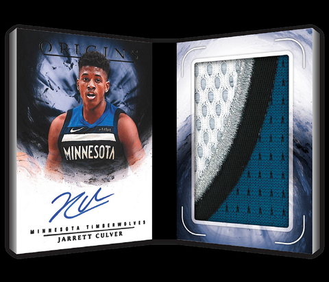panini origins nba 2019 20 rookie booklet patch auto