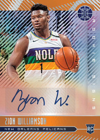 zion rookie auto panini illusions