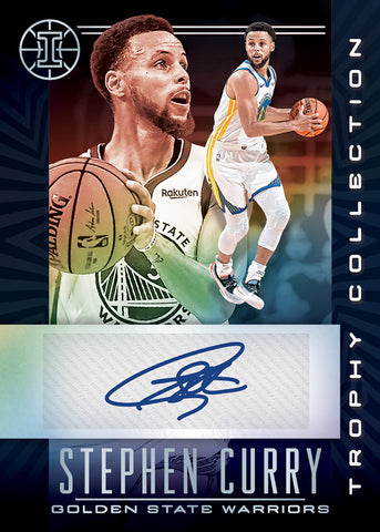 steph curry panini illusions