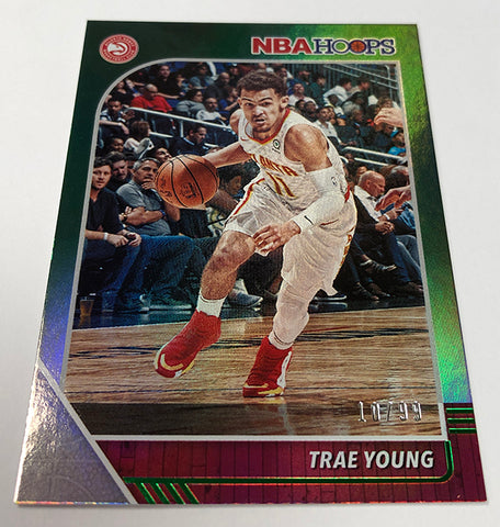 2019-20 hoops panini trae young