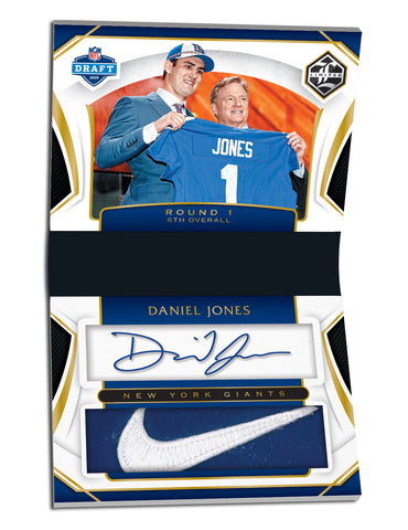 daniel jones panini limited football 2019