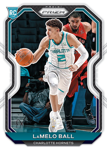 lamelo ball prizm 2020-21 rookie card
