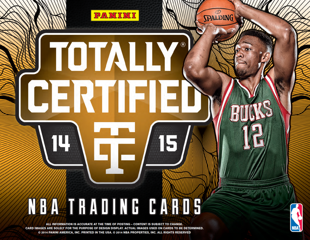 2014-15 Panini Totally Certified Basketball | NBA Trading Cards | Melbourne CBD
