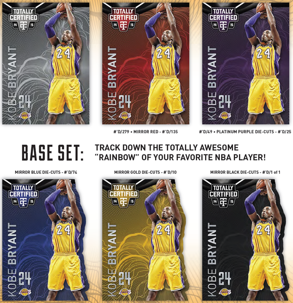 2014-15 Panini Totally Certified Mirror Variations Kobe Bryant | NBA Trading Cards | Melbourne CBD