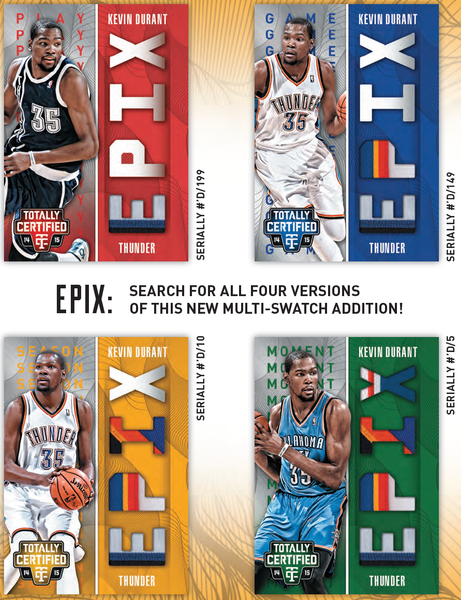 2014-15 Panini Totally Certified Epix Prime Variations Kevin Durant | NBA Trading Cards | Melbourne CBD