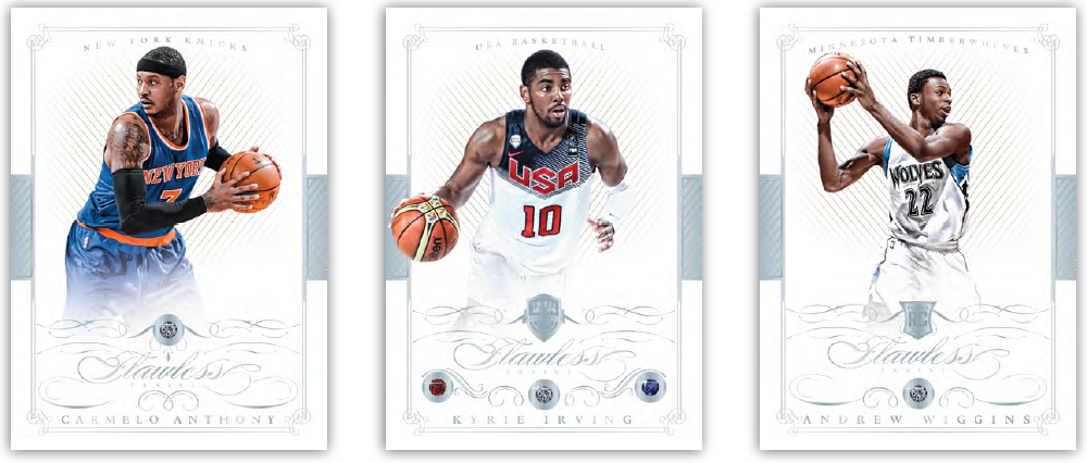 2014-15 Panini Flawless Basketball | Andrew Wiggins RC | Melb CBD