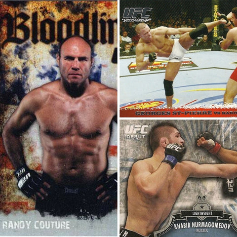 ufc topps rookie cards