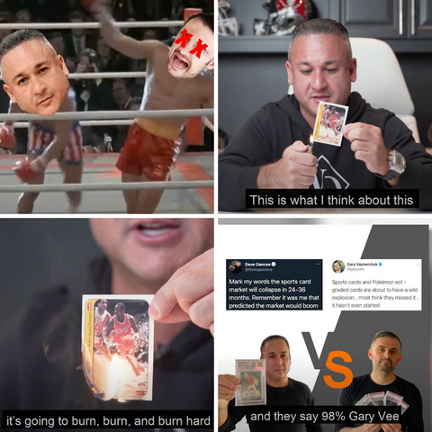 vegas dave vs gary vee sports cards