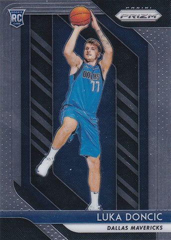 LUKA DONCIC Rookie Card: 2018-19 Panini Prizm Base RC #280