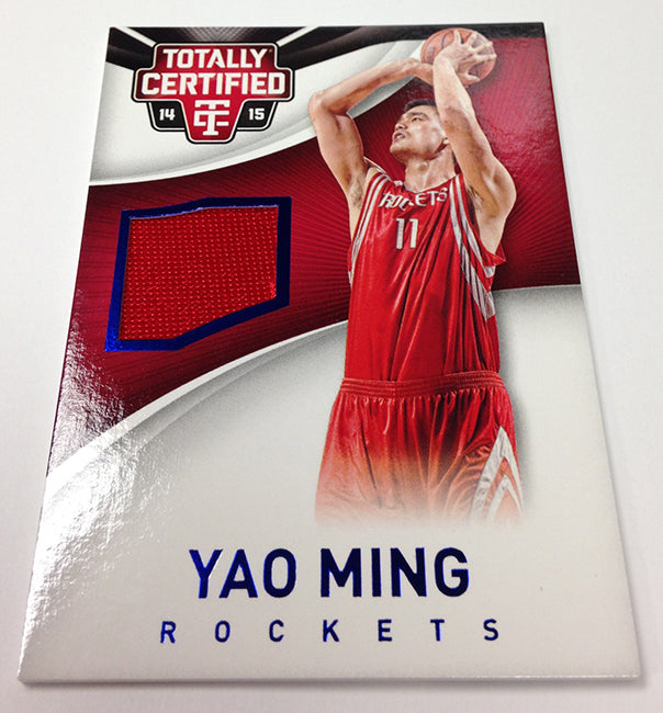 Panini 2014/15 Totally Certified Basketball Yao Ming