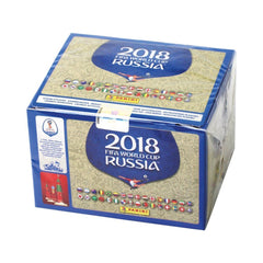 panini world cup sticker 2018 box