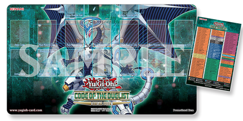 code of the duelist playmat