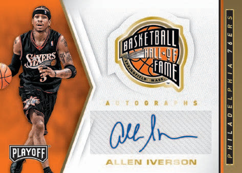 allen iverson panini chronicles
