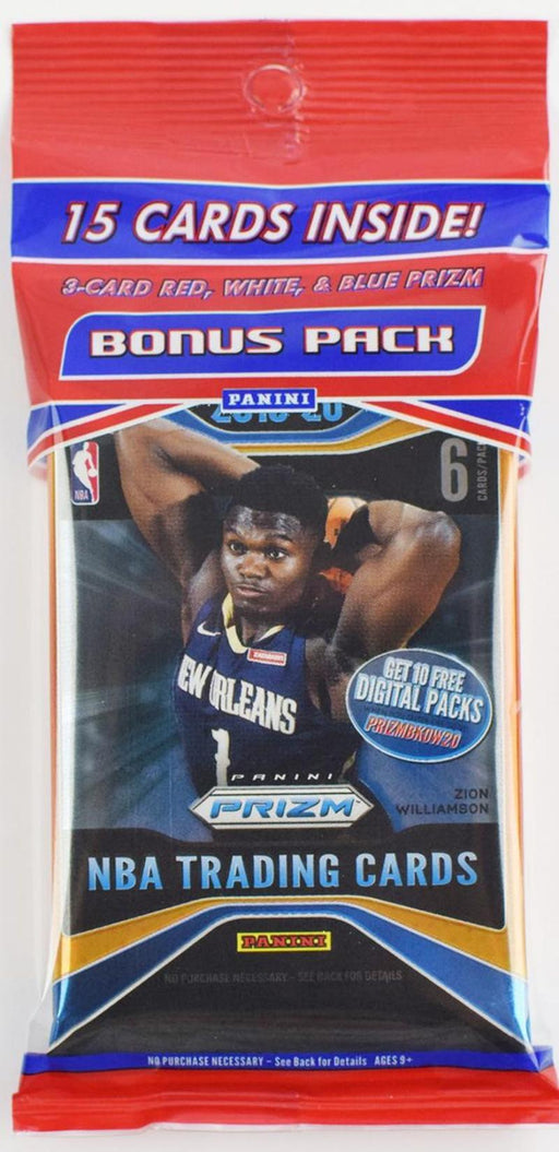 2019-20 Panini Prizm Basketball Cello Multi Pack-Cherry Collectables