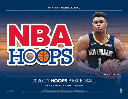 2020-21 Panini NBA Hoops Basketball Hobby Box (Pre Order Feb 3)-Cherry Collectables