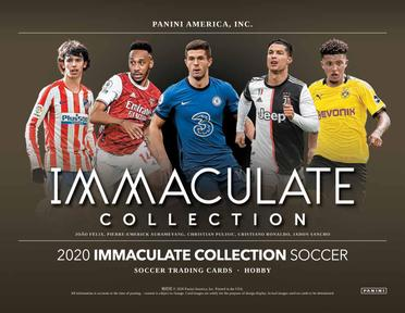 2020 Immaculate Soccer 1-Box Break #2313 - Team Based - Feb 24 (5pm)-Cherry Collectables