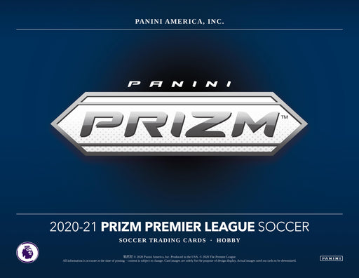 2020-21 Panini English Premier League EPL Prizm Hobby Box (Pre Order Mar 3)-Cherry Collectables