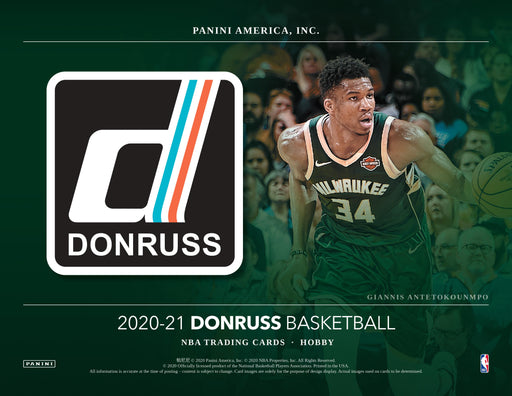 2020-21 Panini NBA Donruss Basketball Hobby Pack-Cherry Collectables