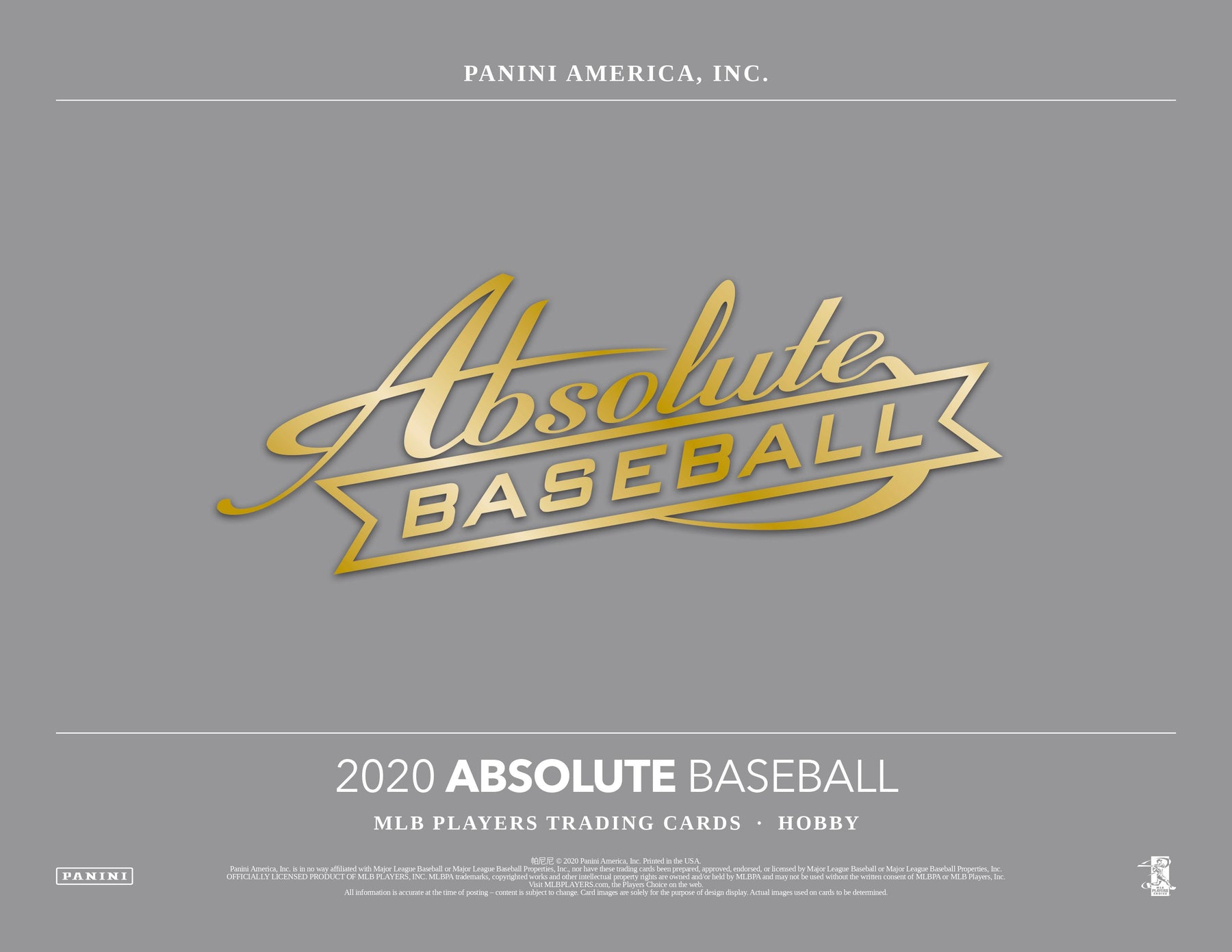 2020 Panini Absolute Baseball Hobby Box (Pre Order July 8)-Cherry Collectables