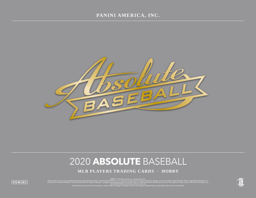 2020 Panini Absolute Baseball Hobby Box (Pre Order July 10)-Cherry Collectables