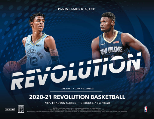 2020-21 Panini NBA Revolution Chinese New Year Basketball Hobby Box (Pre Order Mar 12)-Cherry Collectables