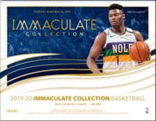 19-20 Immaculate Basketball 1-Box Break #0488 (Win Pelicans) - Team Based - Oct 14 (Night)-Cherry Collectables