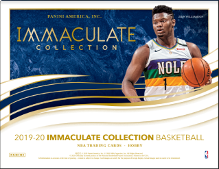 19-20 Immaculate Basketball 1-Box Break #0461 (Win Pelicans) - Team Based - Oct 14 (Night)-Cherry Collectables