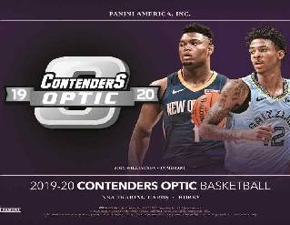 19-20 Contenders Optic NBA 10-Box Inner Break #0276 - Random Team - Sep 23 (Lunch)-Cherry Collectables