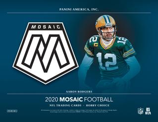 2020 Mosaic CHOICE NFL 1-Box Break #0905 (WIN BENGALS) - Team Based - Sep 21 (Night)-Cherry Collectables