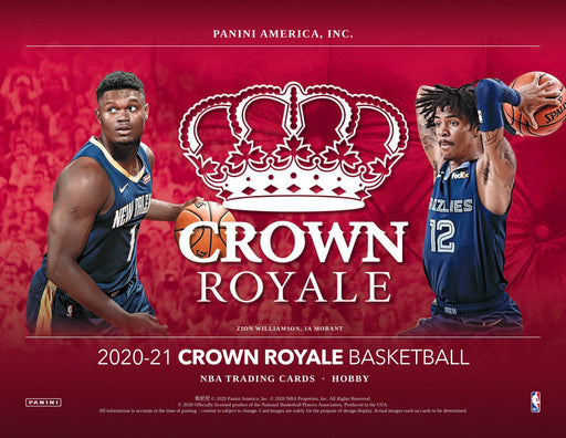 20-21 Panini Crown Royale 4-Box Break #2747 - Random Team - Release Day-Cherry Collectables