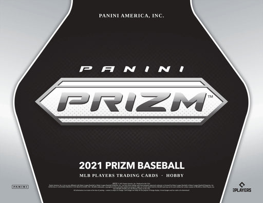 2021 Panini Prizm Baseball Hobby Box (Pre Order May 12)-Cherry Collectables