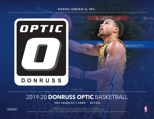2019-20 Panini Donruss Optic Basketball Retail Pack-Cherry Collectables