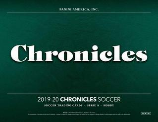 19-20 Panini Chronicles Soccer 2-Box Break #0906 ft. Hobby + T-Mall - Random Team - Sep 21 (Night)-Cherry Collectables