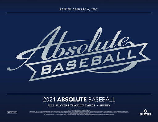 2021 Panini Absolute Baseball Hobby Box (Pre Order May 26)-Cherry Collectables