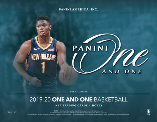 2019-20 Panini One and One Basketball Hobby Box-Cherry Collectables