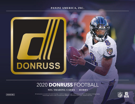 2020 Panini Donruss Football Hobby Pack-Cherry Collectables